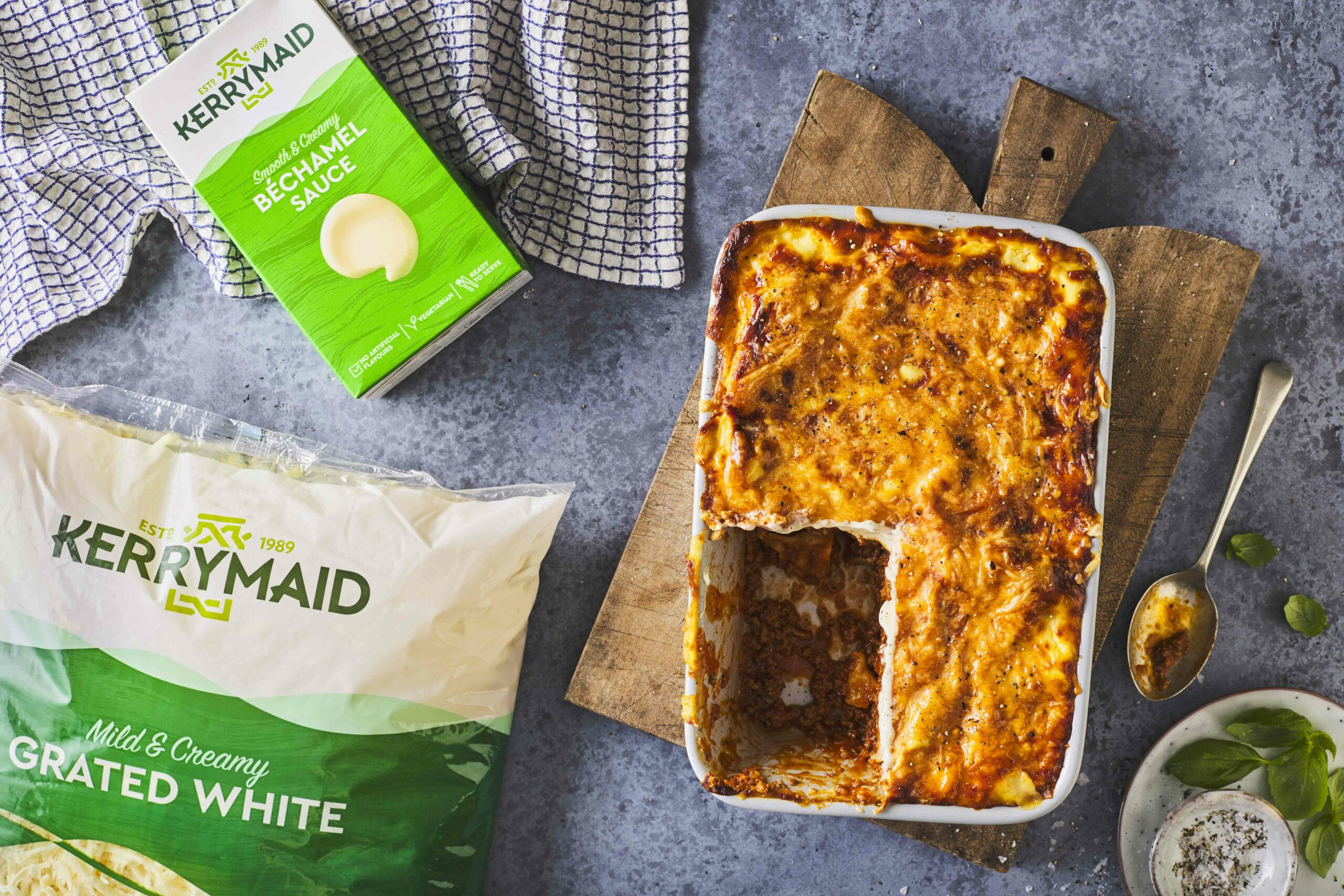 Kerrymaid Béch Grated Lasagne (2) (3)